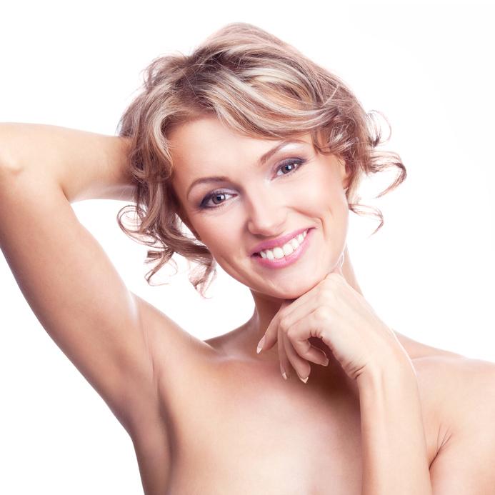 Dauerhaft Haarentfernung Frauen Achseln